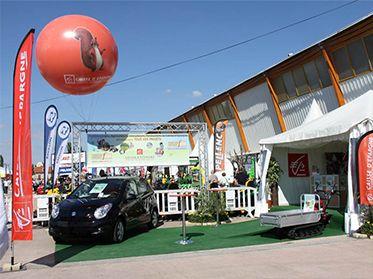 Sphères et ballons publicitaires