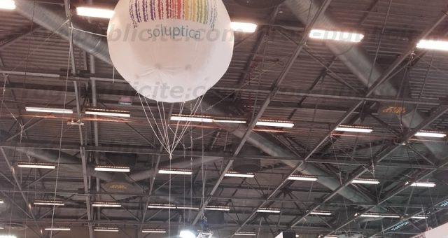 Un gros ballon 2m Salon SILMO 2016 à Paris | Soluptica
