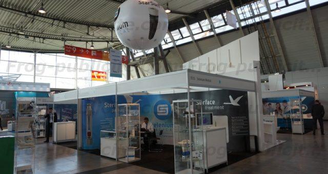 1 ballon gonflable hélium PVC pour Selenium Medical   Medtec Europe 2016