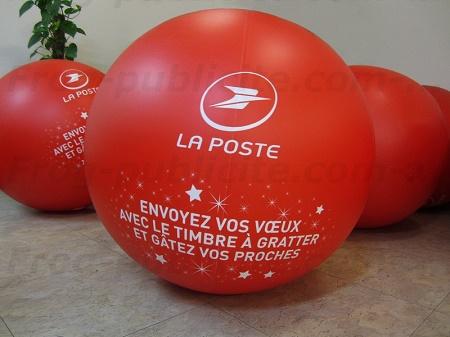 Un ballon promotionnel pour les timbres à gratter La Poste | 2016