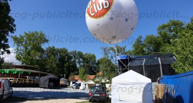 Ballon pub géant Havana Club   25 ans du Caribana Festival