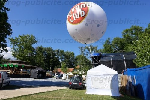 ballon géant hélium blanc havana club