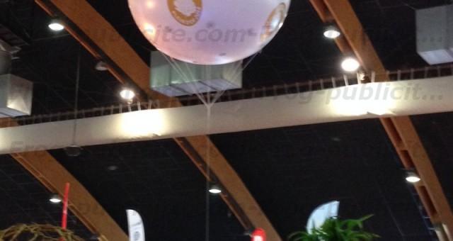 Ballon hélium 2m pour la Foire de Tours | Total covering
