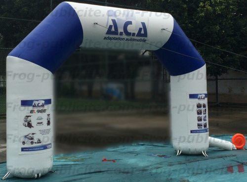 arche publicitaire auto-ventilée 4m ACA adaptation automobile