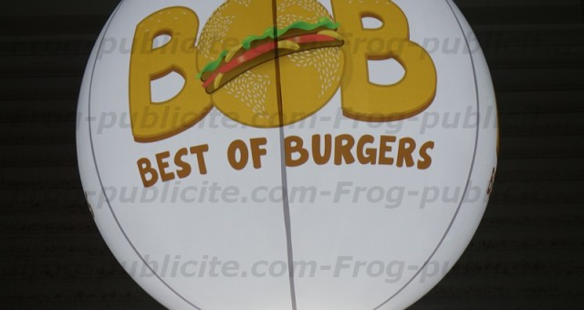 Un Ballon éclairant trépied pour fast food | Best of Burger