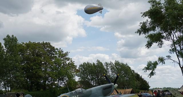 Zeppelin captif à l'hélium | 70ème anniversaire du DDAY
