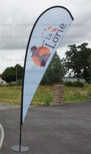 drapeau-goutte-5m la lorie