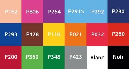 Coloris publicité gonflable