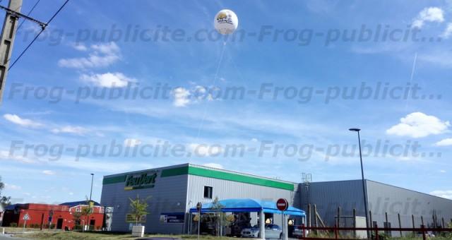 Sphère lumineuse hélium 3m50 (système à Led) | Feu Vert à Laval