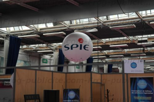 Ballon Spie au salon Petrochim de Lisieux