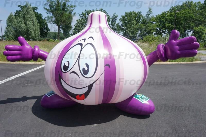 Forme géante gonflable sur mesure - ail pour royal saveurs