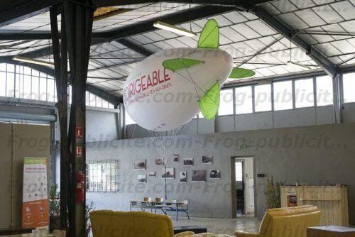 dirigeable hélium géant 6m Ressourcerie Le dirigeable