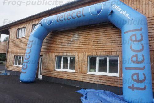 Arche géante gonflable