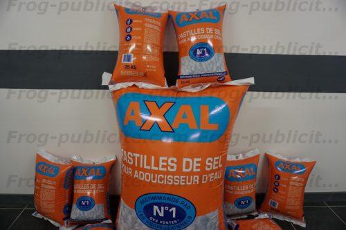 Sac géant gonflable | forme personnalisée gonflable pour la marque Axal