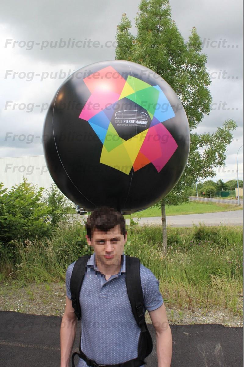 Un ballon sac à dos pour le stade Pierre Mauray de Lille