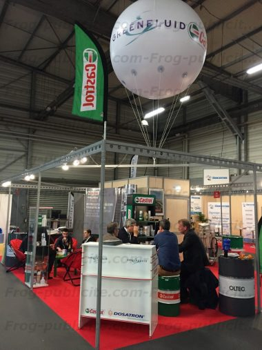 Un ballon h lium salon ouest industrie nantes 2016 castrol for Salons nantes