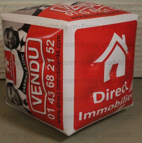 cube signalétique direct immobilier vendu