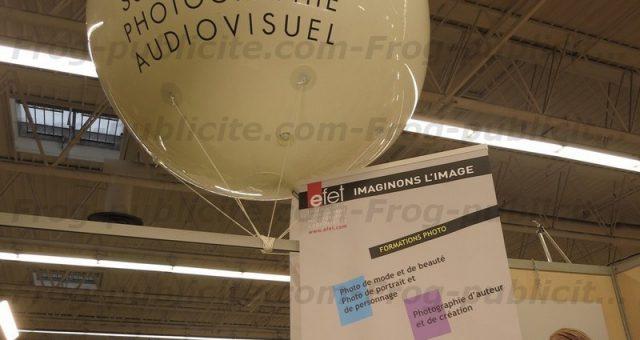 Gros ballon gonflable EFET | Comment attirer plus d'étudiants sur un stand ?
