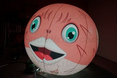 Ballon lumineux personnalisé Avoriaz