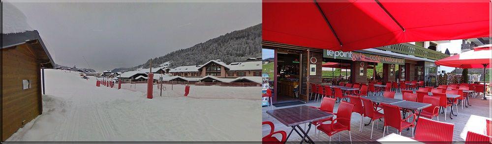 restaurant au pied des pistes de ski - le point gêts