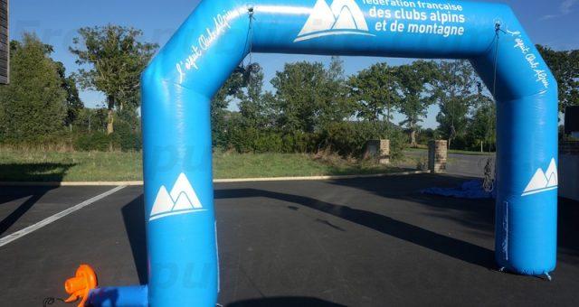 Arche auto-ventilée sur les pistes de ski !