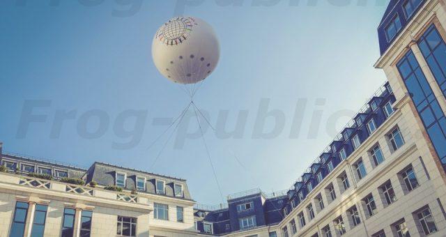 Une sphère hélium 3m | Journée mondiale de l'hémophilie 2017