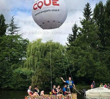 Un ballon publicitaire hélium de 3m sur l'eau | 100% original