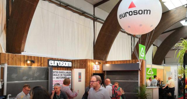 SPACE 2018: 11 ballons publicitaires hélium visibles sur le salon